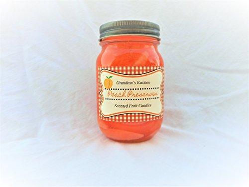Peach Preserve Scented Fruit Gel (Fruit Gel Candle)