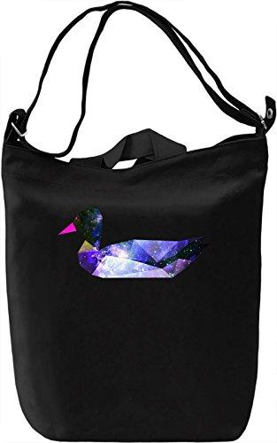 Galaxy Duck Borsa Giornaliera Canvas Canvas Day Bag  100% Premium Cotton Canvas  DTG Printing 