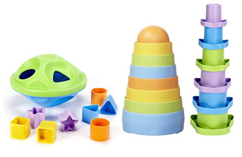 Green Toys Shape Sorter Stacking product image