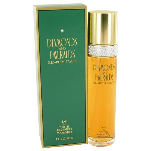 Elizabeth Taylor Diamonds and Emeralds Eau De Toilette Spray, 3.3 Ounce