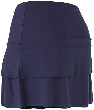 Naffta Basic - Falda Corta para Mujer, Color Azul Marino, Talla L ...