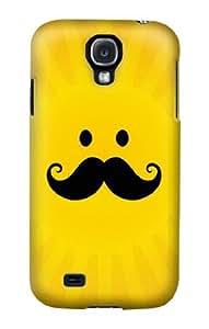 S1145 Yellow Mustache Sun Case Cover For Samsung Galaxy S4 mini