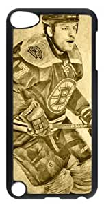 LZHCASE Personalized Protective Case for iPod Touch 5 - NHL BOSTON BRUINS #17 MILAN LUCIC