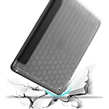 Capa Case Novo Ipad 9.7 polegadas 2017 WB Smartcase Antichoque Couro Preta