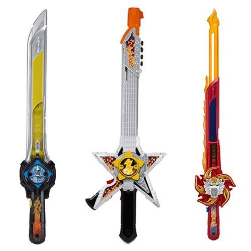 - Power Rangers Super Ninja Steel Dlx. Battle Gear Wave 2 Case