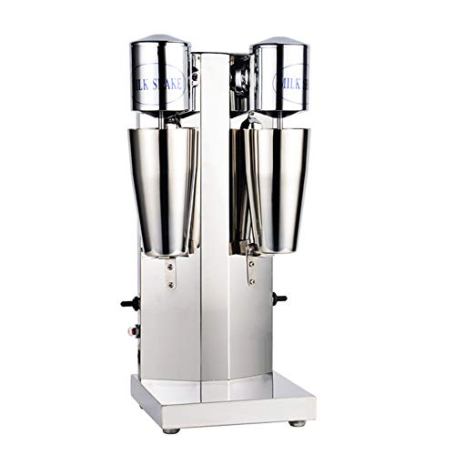 Double Head Drink Mixer Stainless Steel Milk Shake Machine for Drink Mixer 110V