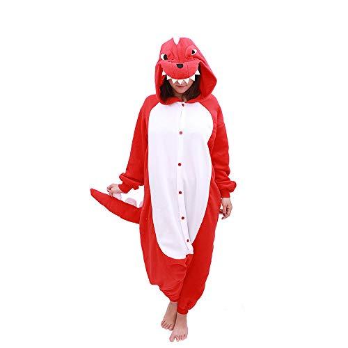 Animal Onesie Dinosaur Pajamas-Plush One Piece Costume (Medium, -