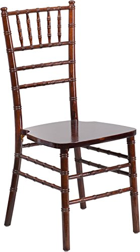 Flash Furniture HERCULES Series Fruitwood Chiavari Chair (Chair Banquette)