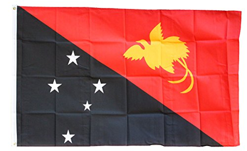 Papua New Guinea - 3' x 5' Polyester World Flag
