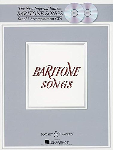 The New Imperial Edition: Accompaniment CDs Baritone Songs