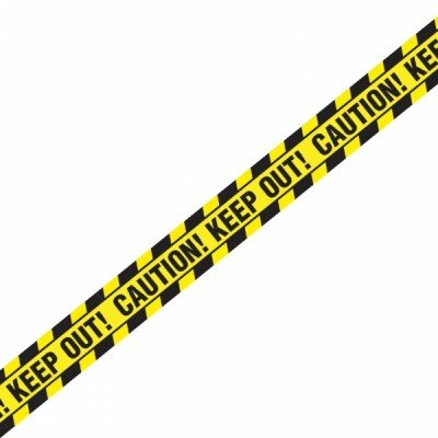 Halloween Caution Keep Out Tape | 12 Ct. -