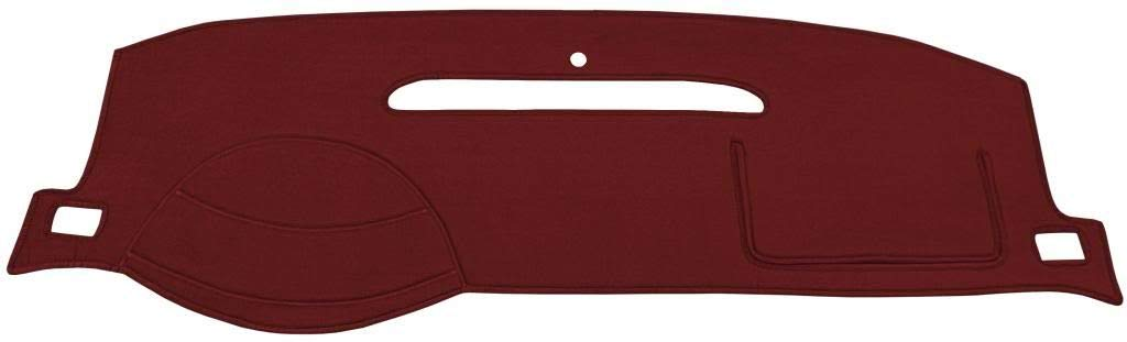 Custom Velour, Charcoal Fits 1997-2005 Seat Covers Unlimited Chevy Venture Dash Cover Mat Pad