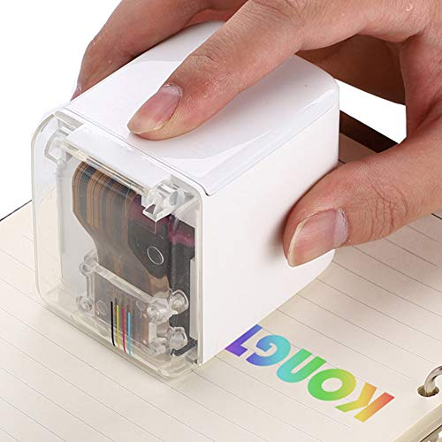 Mini Removable Handheld Color Printer Wireless Bluetooth Portable Printer Smallest Mobile Color Printer