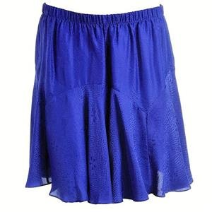 REBECCA TAYLOR $269 Retail Price Womens BLUE SILK Flounce Flare SKIRT SZ 4 NEW NWT - Rebecca Taylor Silk Skirt