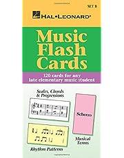 Music Flash Cards - Set B: Hal Leonard Student Piano Library