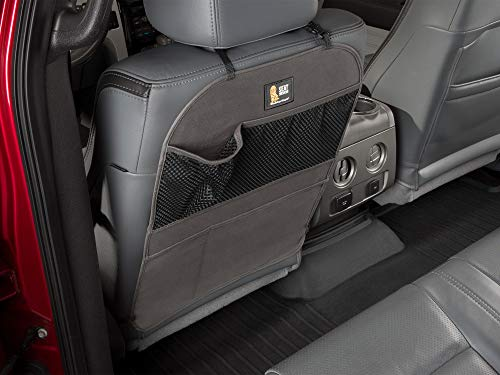 WeatherTech Seat Back Protector - Kick Mat and Organizer for The Back of Your Seat - Cocoa ()