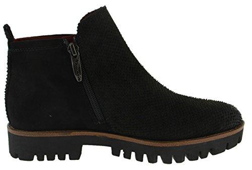 Tamaris 25149-31 - Botas de cuero para mujer Peine Negro