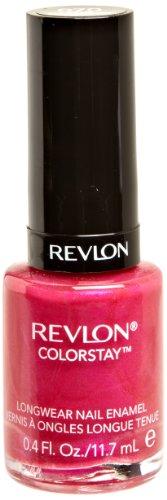 REVLON Colorstay Nail Enamel, Wild Strawberry, 0.4 Fluid Ounce