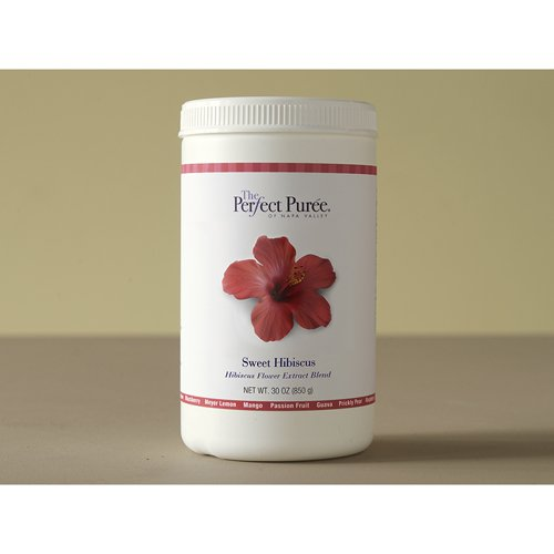 Perfect Puree Sweet Hibiscus Puree, Frozen - 30 oz (Pack of 6) by Perfect Puree