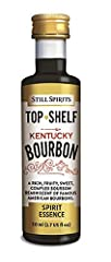 Still Spirits Top Shelf Essences & Extracts - Kentucky Bourbon  Flavours 2.25L of Vodka or Spirit.         Add one of these little 50ml bottles to 3x 750ml bottles of Vodka or Moonshine to turn it into the Spirit or Liqueur of you...