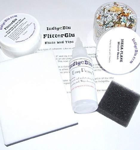 FlitterGlu Gilding Kit in a Box IndigoBlu