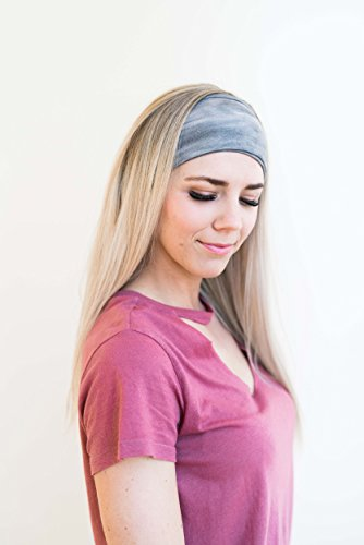 58eddecf5f7d Maven Thread Women s Headband Yoga Running Exercise Sports Workout Athletic  Gym Wide Sweat Wicking Stretchy No
