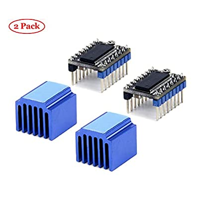 Oak-Pine 3D Printer Stepper Motor Driver LV8729 4-Layer Substrate Ultra Quiet Driver Support with Heatsink