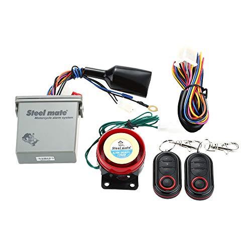 Amazon.com: Original Steelmate 986E 1 Way Motorcycle Alarm ...