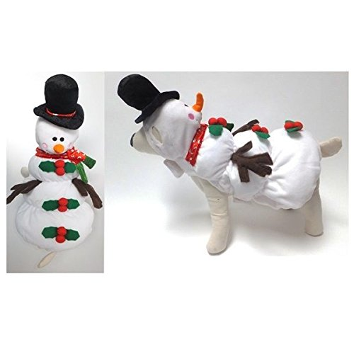 - Quality Dog Costume SNOWMAN COSTUMES Dress Your Dogs as Frozen Winter Snowmen(Size 5)