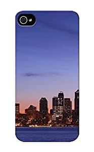 Hot Snap-on Seattle At Dawn Hard Cover Case/ Protective Case For Iphone 5/5s Kimberly Kurzendoerfer