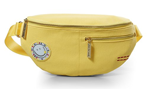 Peace Love World Belt Bag Waist Packs PLW203 Yellow (Yellow) by Peace Love World