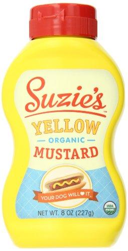- Suzie's Yellow Organic Mustard-8 ounce (12 pack case)