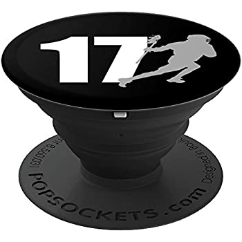 Amazon.com: Lacrosse Number 17 - PopSockets Grip and Stand ... | 350 x 350 jpeg 13kB