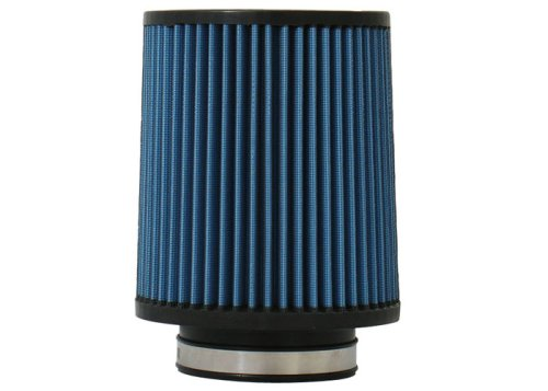 "Injen Technology X-1021-BB 3.5"" AMSOIL Ea Nano-Fiber Black and Blue Air Filter"