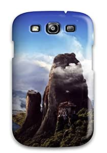 Durable Castle On The Top Of The Mountain Back Case/cover For Galaxy S3