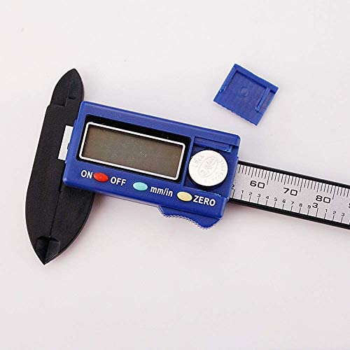 BXU-BG Digital Caliper 0-100mm Vernier Caliper Mini High Precision Digital Electronic Caliper HD Digital Caliper (Size : 0-100mm)