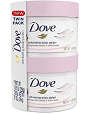 Dove Exfoliating Body Polish, Pomegranate and Shea Butter, 10.5 oz (Pack of 2)