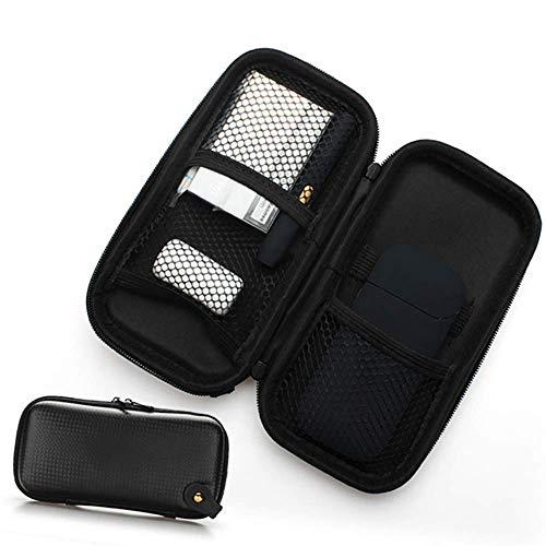 Joytech Accessory - Zipper Bag for Electronic Cigarette Protection Case Leather 2.4 Plus Universal Cigarette Briefcase Bag Electronic Cigarette Case Bag Kit