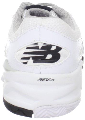 Argento Scarpa Delle Donne Nuovo Da Bianco Wc996ws Equilibrio Tennis H7Rq81zn