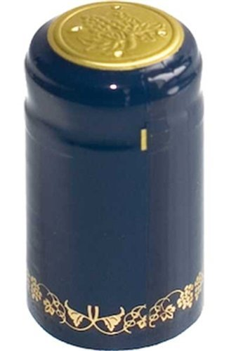 Blue Gold Grapes PVC Shrink Capsules- 30 Per Bag
