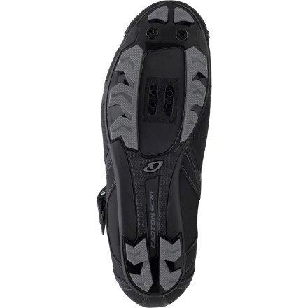 Giro Gauge HV bicicleta de montaña guantes negro 2014, color Negro, talla 43.5