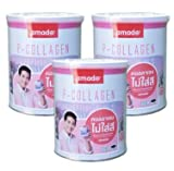 Hothit Amado P-Collagen Tripeptide Plus C 100,000mg. Whitening Restore Skin x 1 Box