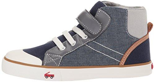Pictures of See Kai Run Boys' Dane Sneaker, Chambray Multi, 7 M US Toddler 5