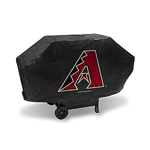 Amazon.com: Cobertor de lujo para parrilla, de la MLB, negro ...