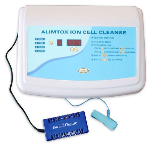 Alimtox Rejuvenix Ionic Detox Ion Cell Cleanse Foot Spa by Alimtox