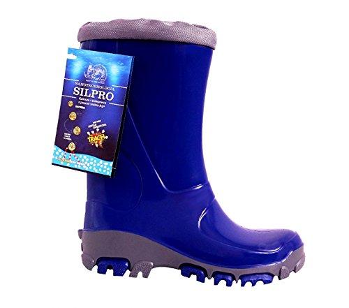 Muflon Renbut Jungen M盲dchen Unisex Gummistiefel Regenschuhe Stiefel Matschschuhe waterproof wasserdicht Navy Blau