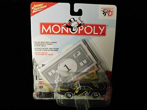 1969 Dodge Daytona 70th Anniversary Monopoly Edition 1:64 scale by Johnny Lightning