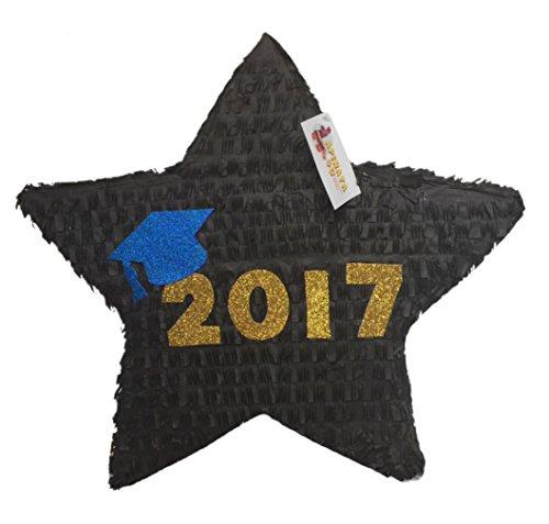 2017 Graduation Star Pinata Blue (Graduation Pinata)