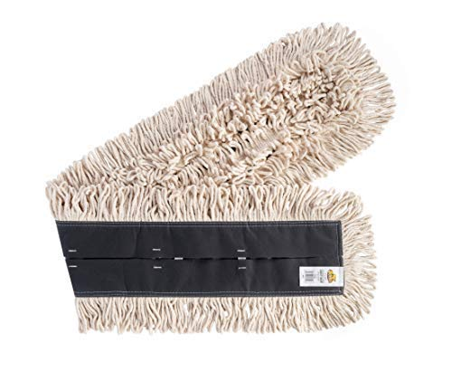 Bristles 3548 Dust Mop Head 48 Inch - Disposable Cleaning Pad, 48 x 5, Pack of 1