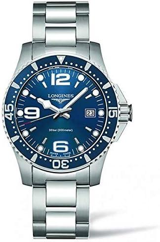 Relógio de luxo Longines de quartzo analógico para mulher, modelo L37404966